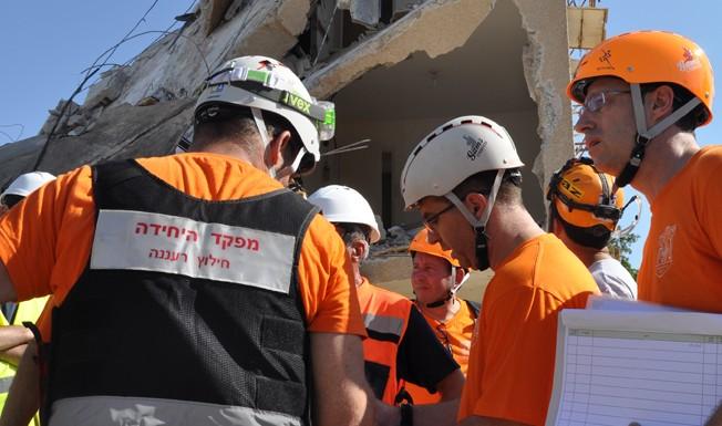 Entrenamiento de instructor de rescate